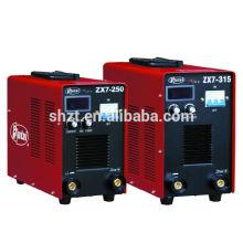 Hutai China Lieferant: Wechselrichter DC MMA Lichtbogenschweißmaschine Kunststoff-Maschinen ZX7-315