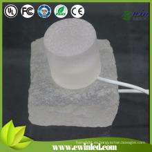 Piso del baile del ladrillo LED IP65-68 con 10 * 20 * 5cm, pavimentadora de cristal