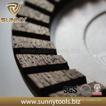Roda superior profissional do copo de polonês do diamante da qualidade