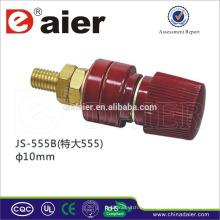 Postes de enlace de métrica de 10MM de gran diámetro / conectores de poste de enlace de altavoz de plástico