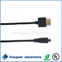 High Speed Flat HDMI Cable with Am to Dm 1080P Cable