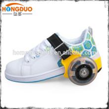 Выдвижной ролик скейт обувь для игрушки детей