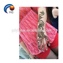 Хна трафареты Менди Индийский стиль образный татуировки наклейки в горячие продажи украшения для тела поставки