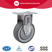 Chrome 4 pouces 130Kg Rigid TPU Caster