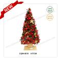 Único regalo de Navidad de la cereza flor de plástico decoración de la boda H2-2.5 pies
