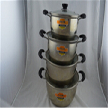 ChaoZhou stainless steel Korean soup pot Kit