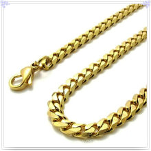 Collar de la joyería de la manera Cadena inoxidable del acero (SH021)