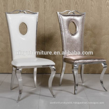 Imitation leather stainless steel chair XYN2807
