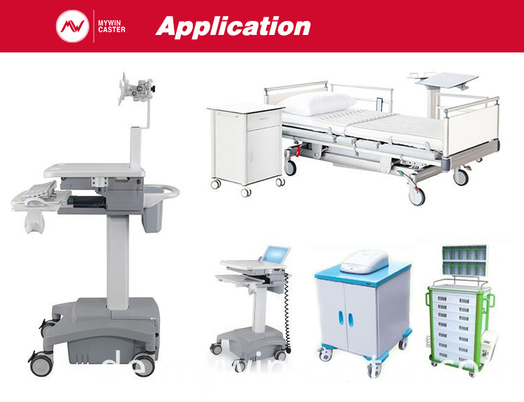 multi-functional medical bed casters