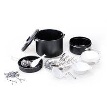Anodizing Aluminum Cook Set for 2-3 People (CL2C-DT2220-4)
