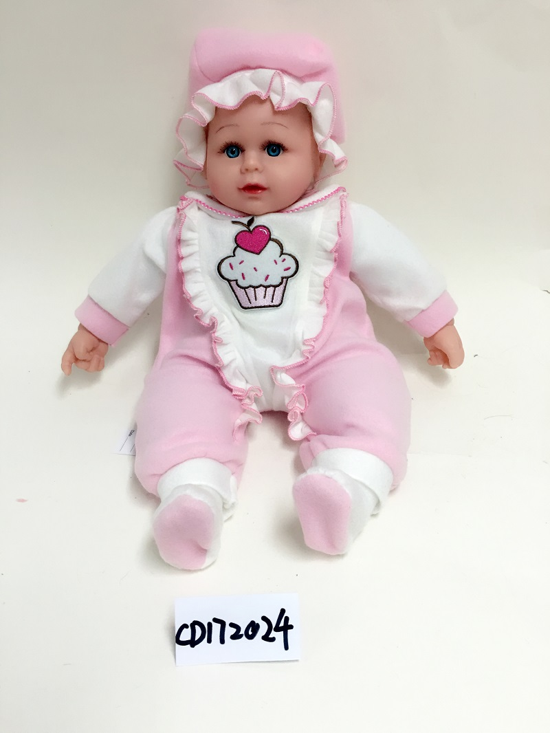 Cute baby vinyl sleeping doll