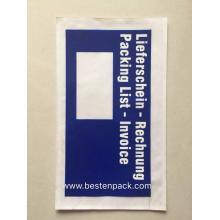 Deutschland Blue Packing List Envelope