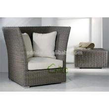 SL-(43) wicker rattan outdoor furniture high back sofa chair