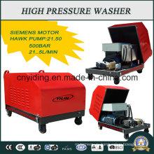 Мойка сверхвысокого давления с насосом Hawk 500 бар для промышленных условий эксплуатации (HPW-DC5022C)