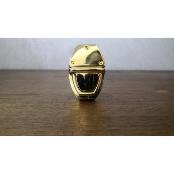 Мода Стиль металл Песня A Металл Поворот и Snap оснастки аппаратные декоративные Высококачественная сумка Push lock