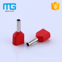 Factory Supply Copper Cable Ferule Insulated Twin Cord End Terminals