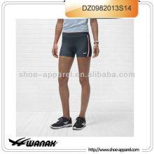 2014 pantalones cortos ajustados apretados de encargo, desgaste corriente