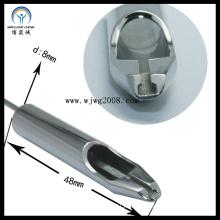 8*48cm, 304stainless Steel Ta-7f-01 Tattoo