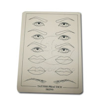 Haute qualité tatouage Maquillage Permanent sourcil & lèvres ne peau aucuns pratique de tatouage Poison Skin