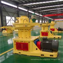 CER genehmigte Biomasse-Holzpellet-Maschine (1-10tons / h)