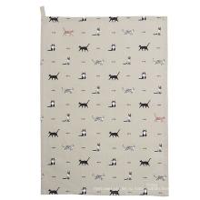 высокое качество забавный собака печать узор кухонное полотенце кухонное полотенце ТТ-024