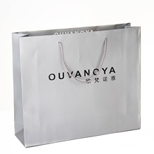 2016 New Luxury Shopping Paper Bag for Cloth