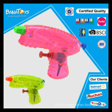 2015 Promotion toy for kid clear plastic water gun