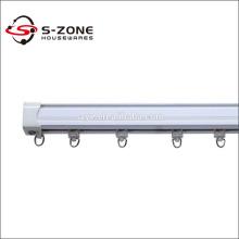 New plastic curtain rail design