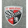 Woven Soccer Team Name Logo Label
