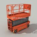 Günstigen Preis Indoor Outdoor Mobile Erhöhte Selbstfahrende Kleine Elektrische Scherenbühne