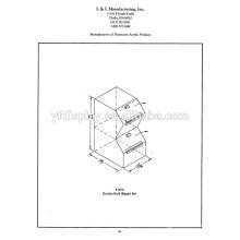 Angepasste Acryl-Display-Box