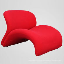 New Home Design Furniture Fabric Lounge Chair