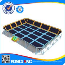 Professional Manufacturer Set up Indoor Trampoline Site