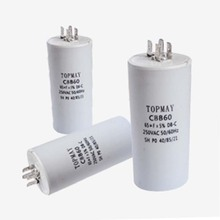 Cbb60 condensador de película de polipropileno metalizado para CA Topmay 2016 graves