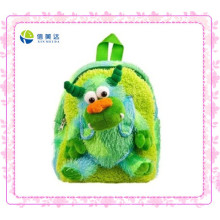 Green Monster Plush Backpack for Kids (XDT-0032Q)