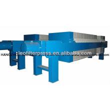 Automatische, schnell öffnende hydraulische Membranfilterpresse