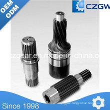 High Precision Customized Transmission Gear Input Gear for Various Machinery