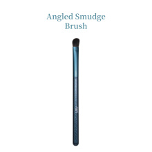 Blauwe luxe aanpassen Angled Smudge Brush Kit