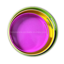 Round Melamine Tray with Handle (TR4961)