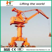 High Working Efficiency Level Luffing Portal Crane