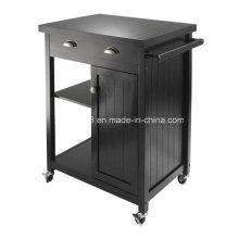 Древесины кухня корзину шведский стол шкаф твердой древесины кухня корзину с CE (G-K09)