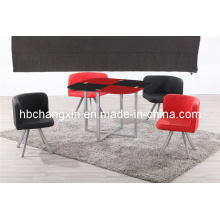 Hot Sell High Quality Modern Design Leather Dining Table