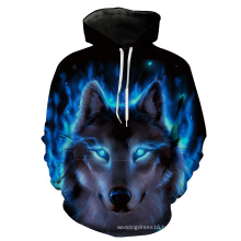Beast Printing Sweatshirt Jacket Coat Garment Hoody Clothes