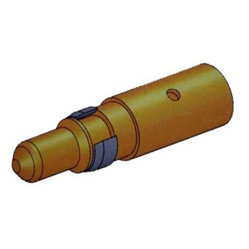 Power Coaxial D-Sub Conector Crimp Male Contact