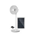 Rechargeable Solar Fan 16/14 inch 12v stand fan