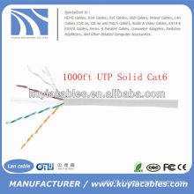 1000TP 4pairs Cat6 Network Solid Copper UTP Cable