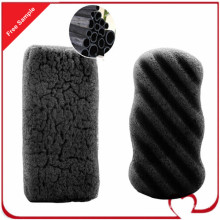 Wholesale Organic Body Bamboo Charcoal Cleaning Konjac Sponge