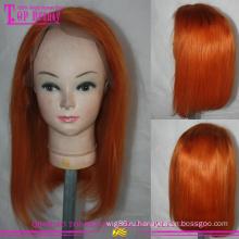 Малазийский девственной человеческих волос shorrt слоистых Боб кружева парик дешевые #360 Боб