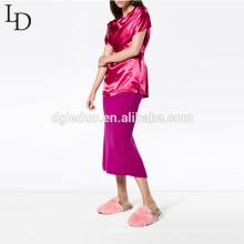 Novo design mulheres blusa de manga curta 100% viscose verão camiseta