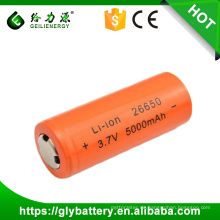 GLE 26650 3,7 V 5000 mAh Li-Ion Akku Taschenlampe Ersatz Lithium-Batterie